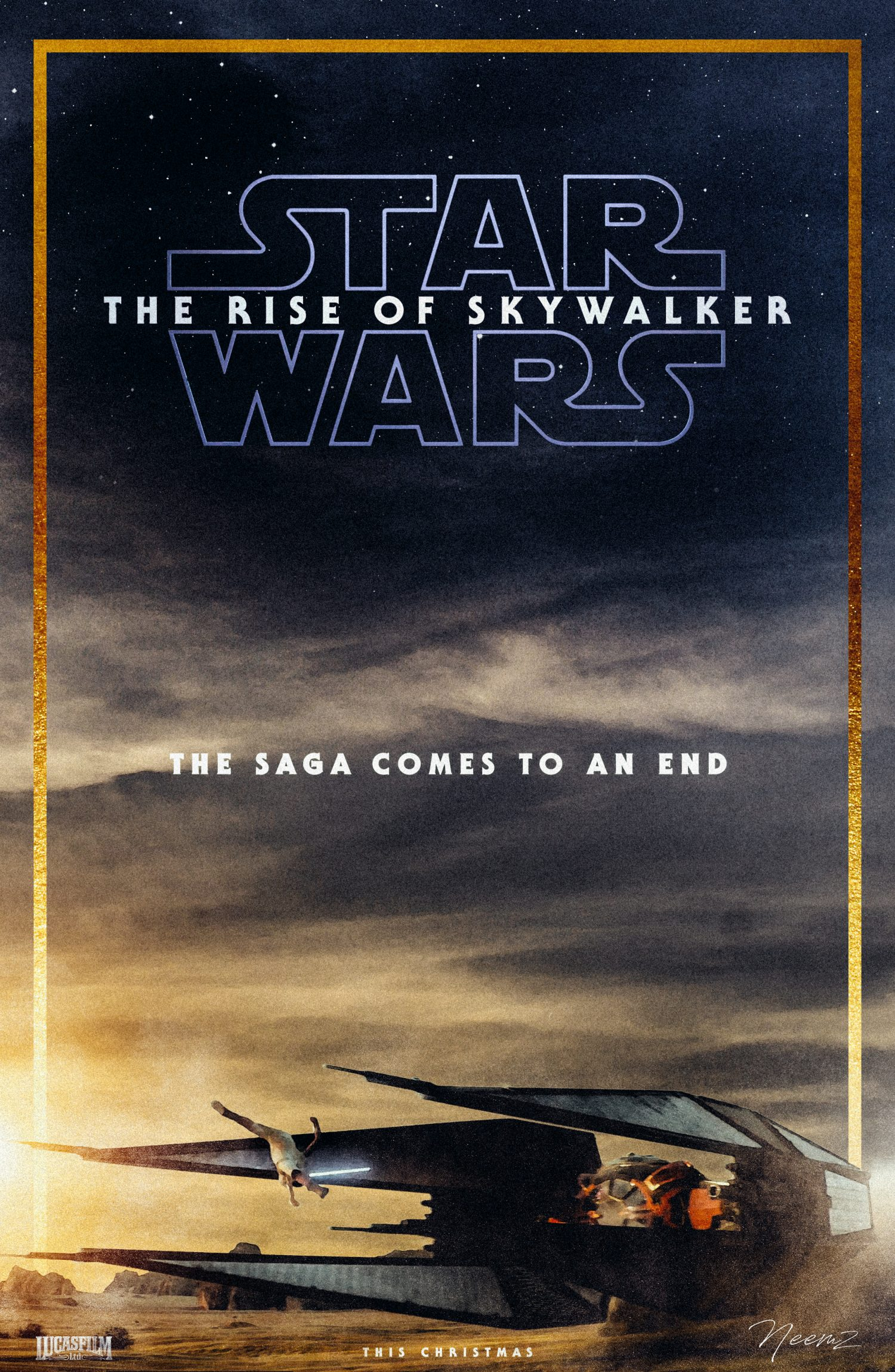 Star Wars Episode Ix The Rise Of Skywalker Movie Poster Posterspy