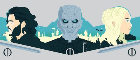 Game of Thrones Triptych