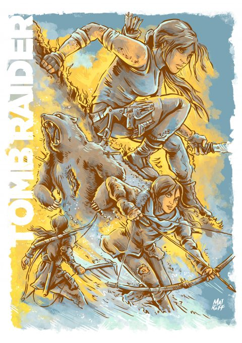 Tomb Raider Collection Poster