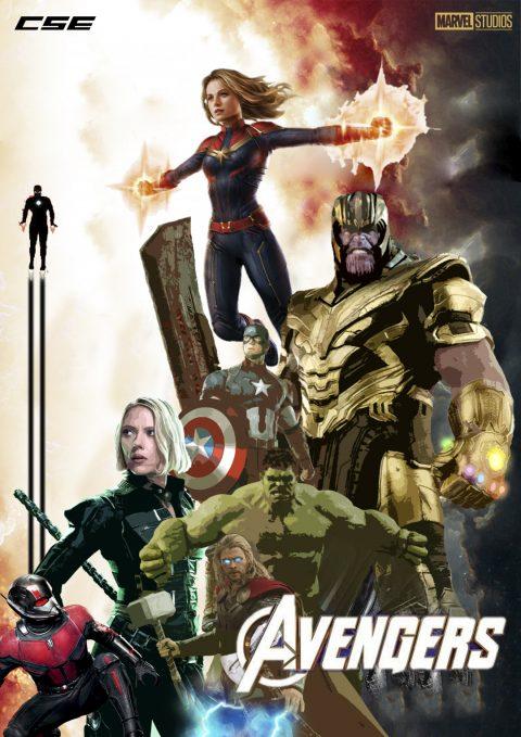 Avengers Endgame – Poster
