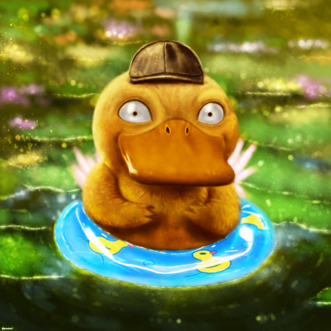 Detective Psyduck