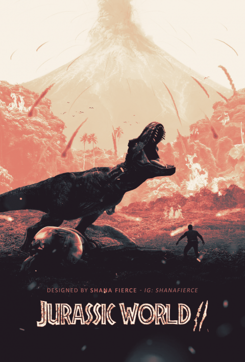 Jurassic World: Fallen Kingdom Poster #1