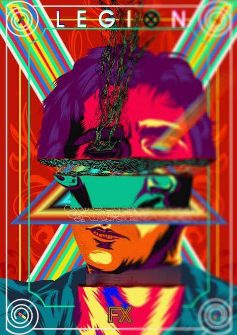 Legion Psychedelic Poster