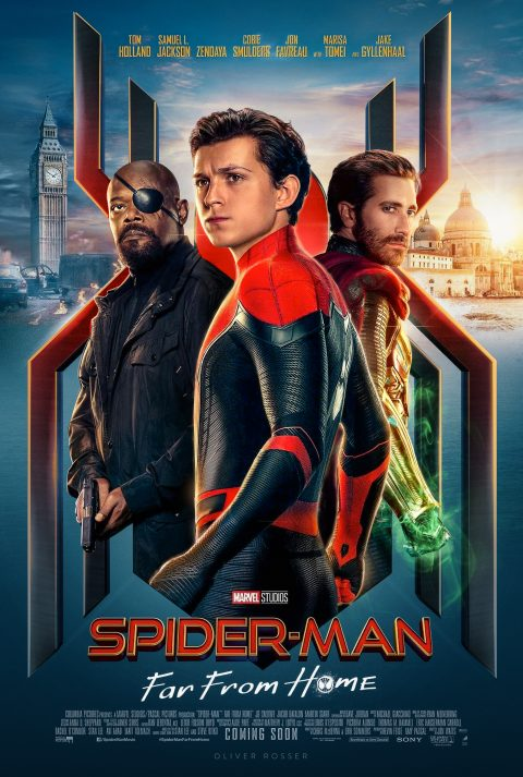 REMASTERED Spider-Man: Far From Home Poster
