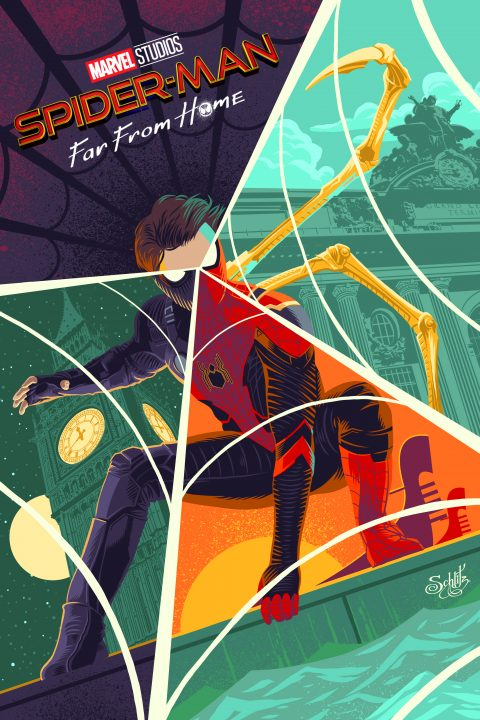 Spider-man: Far from Home alt poster