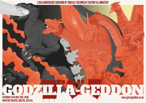 Godzilla-geddon (B&W version)