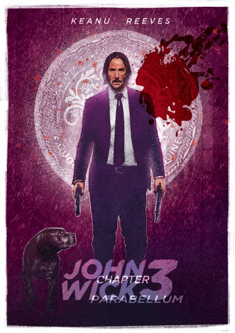 John Wick Chapter 3 Parabellum Tribute Poster