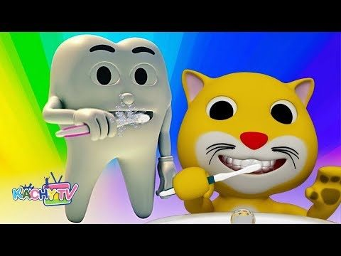 Get Ready to Brush Your Teeth For Kids Songs and fun with by Kachy TV