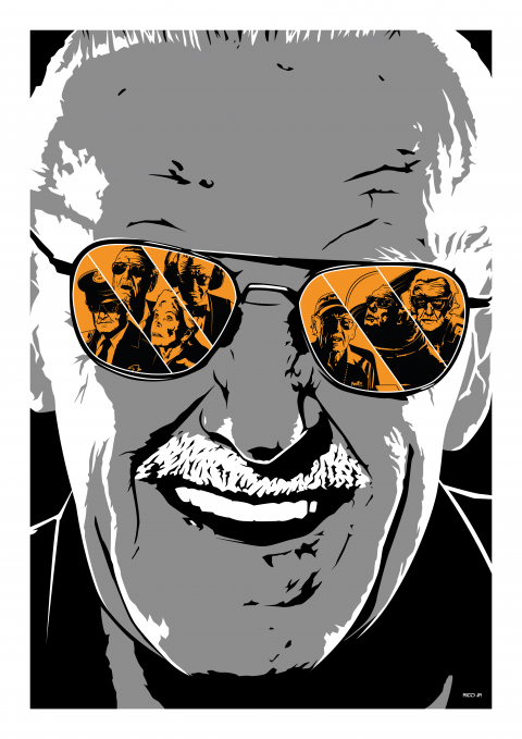 STAN LEE Cameos (Private Commission)