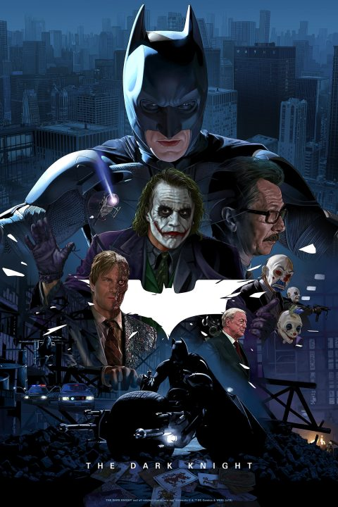 THE DARK KNIGHT – BOTTLENECK