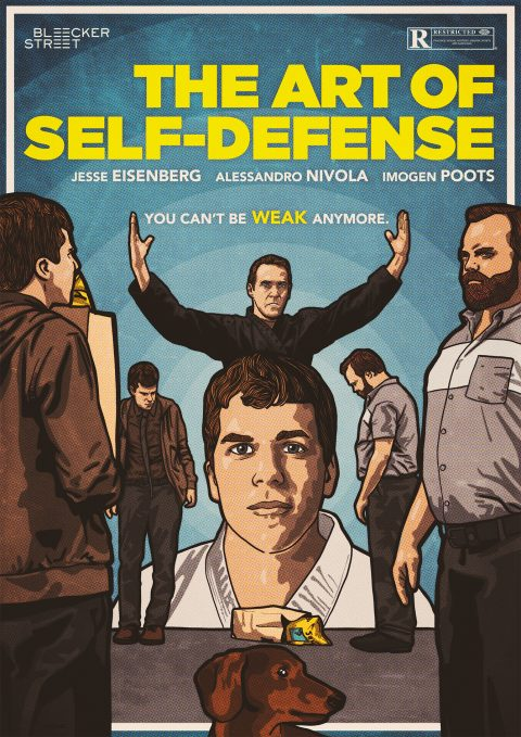 THE ART OF SELF-DEFENSE Poster design 1