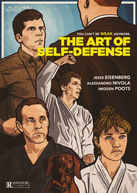 THE ART OF SELF-DEFENSE Poster design 2