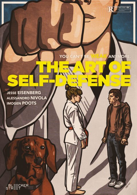 THE ART OF SELF-DEFENSE Poster design 3