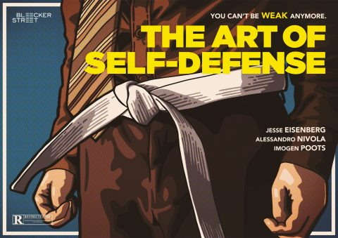 THE ART OF SELF-DEFENSE Poster design 4