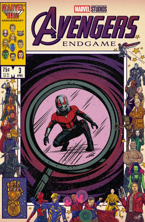 Avengers Endgame Tribute: Antman