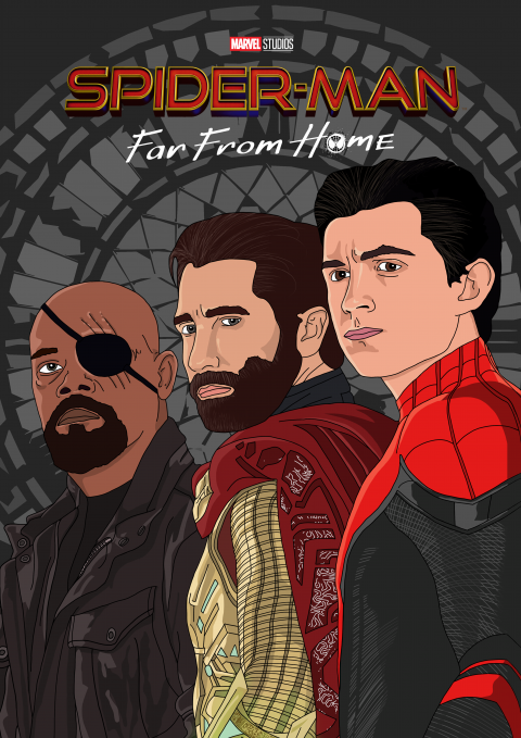 'Spider-Man Far From Home' Poster