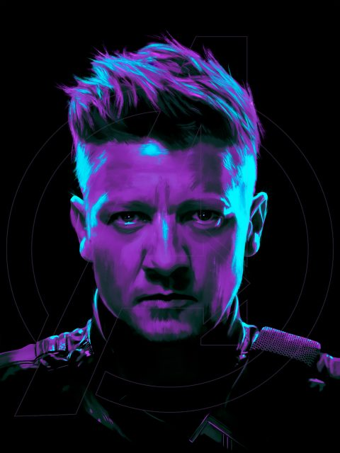 Hawkeye Portrait