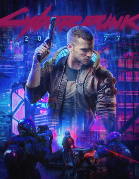 """V"" – CYBERPUNK 2077 POSTER"