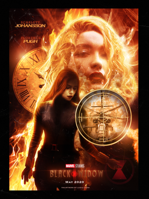 Black Widow Movie Poster (2020)