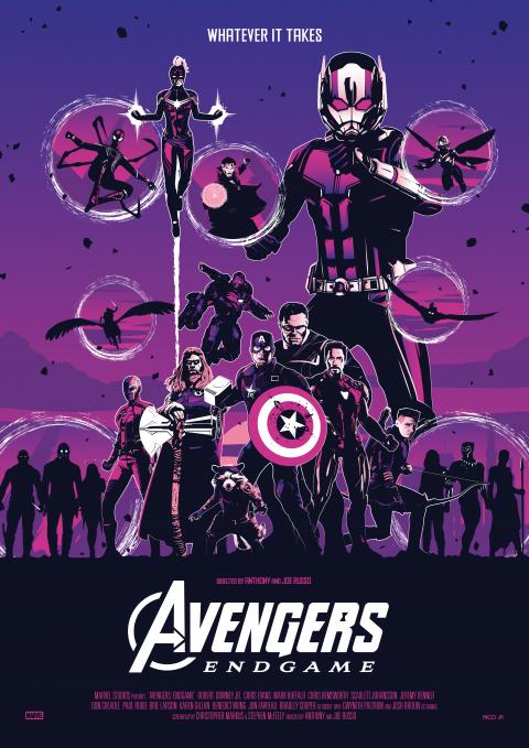 AVENGERS: ENDGAME Poster Art