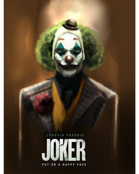 Joker alternate version Illustration