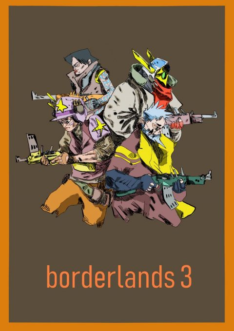 #10YearsOfBorderlands