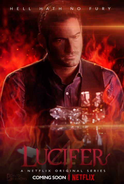 Lucifer Season 4 Netflix Poster