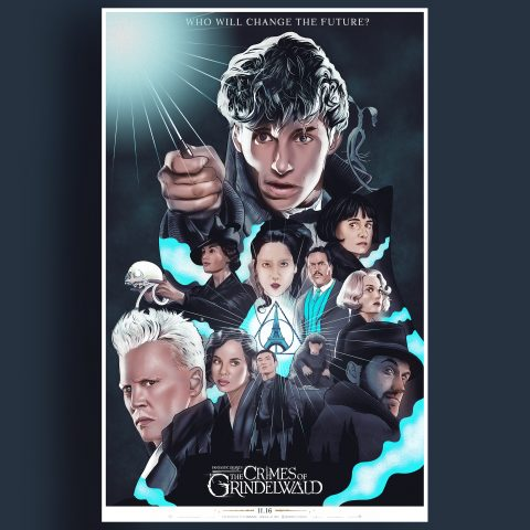Alternative Movie Poster: Crimes of Grindelwald