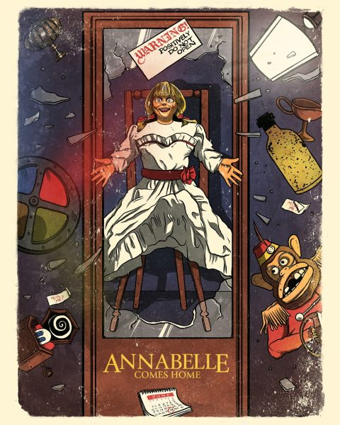 Alternative Movie Poster: Annabelle Comes Home