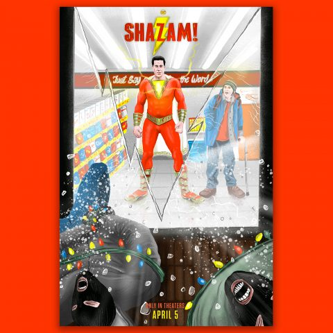 Alternative Movie Poster: Shazam