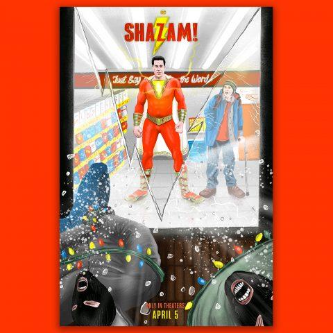 Alternative Movie Poster: Shazam