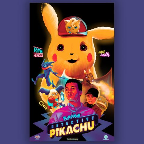 Alternative Movie Poster- Pokemon: Detective Pikachu