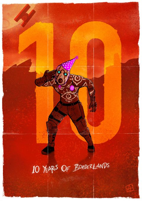 Celebrating 10 Years of Borderlands