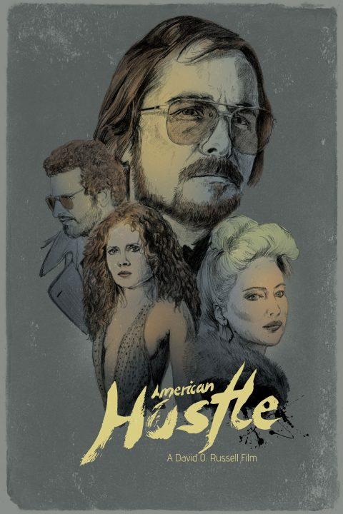 Alternative Movie Poster: American Hustle