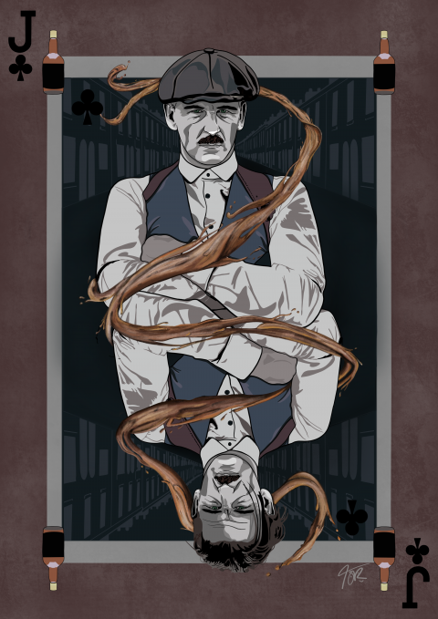Arthur Shelby Peaky Blinders 'Jack of Clubs'