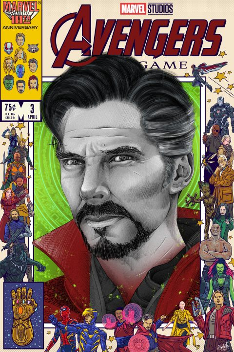 Artists Assemble 3000 – Doctor Strange