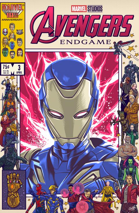 Avengers Endgame – Rescue (Iron Maiden)