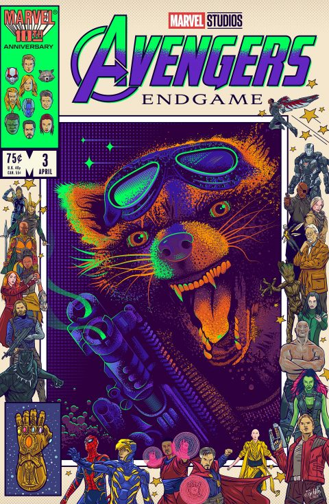 Avengers Endgame – Rocket Raccoon