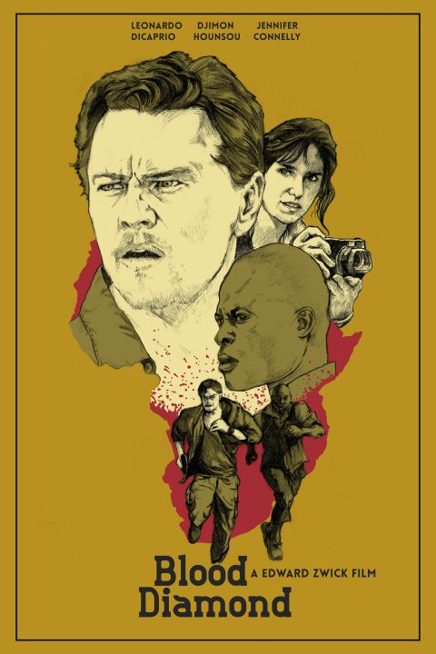 Alternative Movie Poster: Blood Diamond