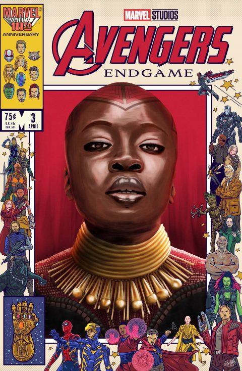 Avengers Endgame Tribute X Danny Schlitz: Okoye