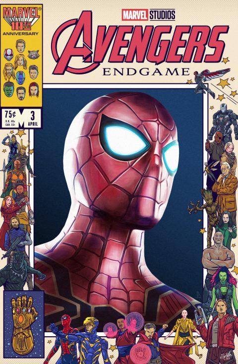 Avengers Endgame Tribute X Danny Schlitz: Spider-Man