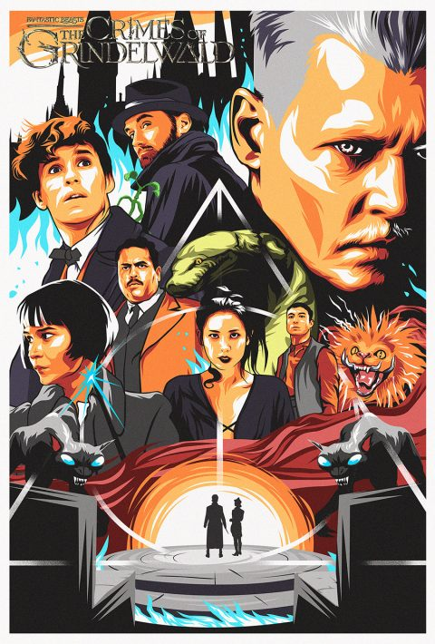 Fantastic Beast (movie artwork/poster)