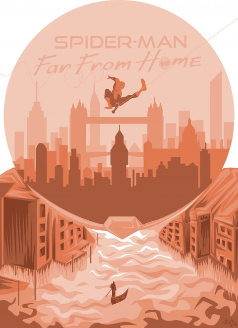 Spider-Man Far From Home Alternative Poster