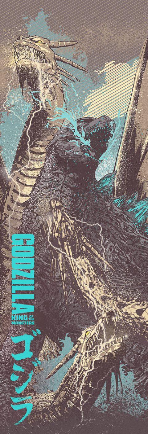Godzilla vs Ghiddorah