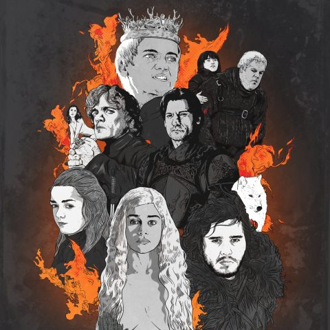 Game of Thrones: Principal Cast in Procreate
