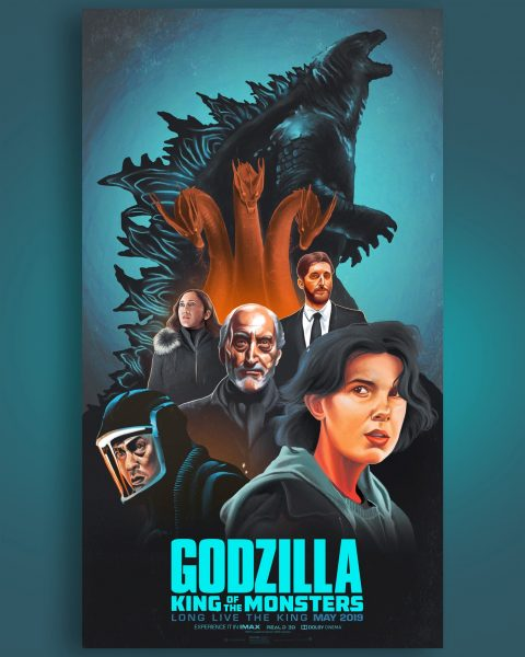 Alternative Movie Poster: Godzilla- King of the Monsters