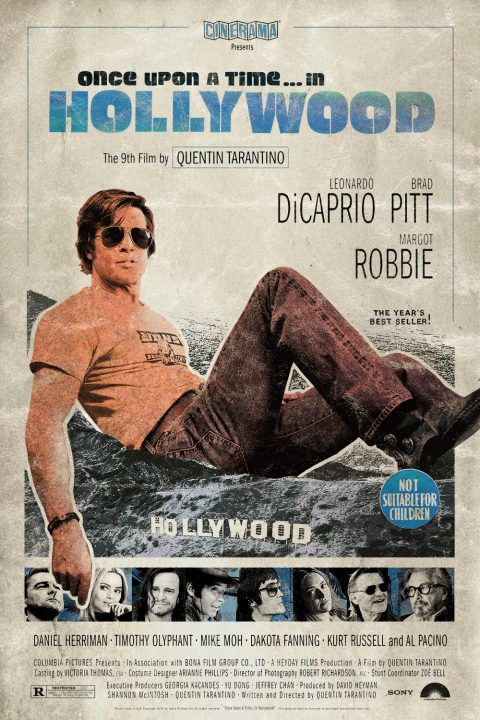 Once Upon a Time… in Hollywood Alt Movie Poster 3/3