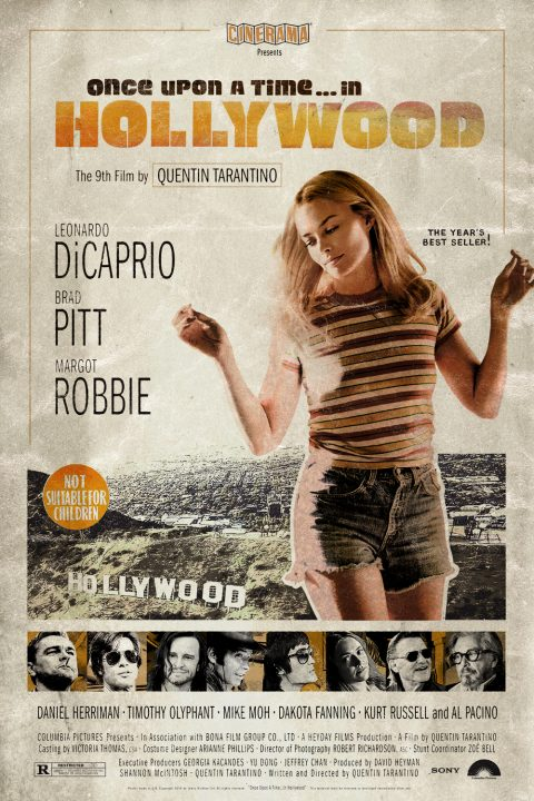 Once Upon a Time… in Hollywood Alt Movie Poster 2/3