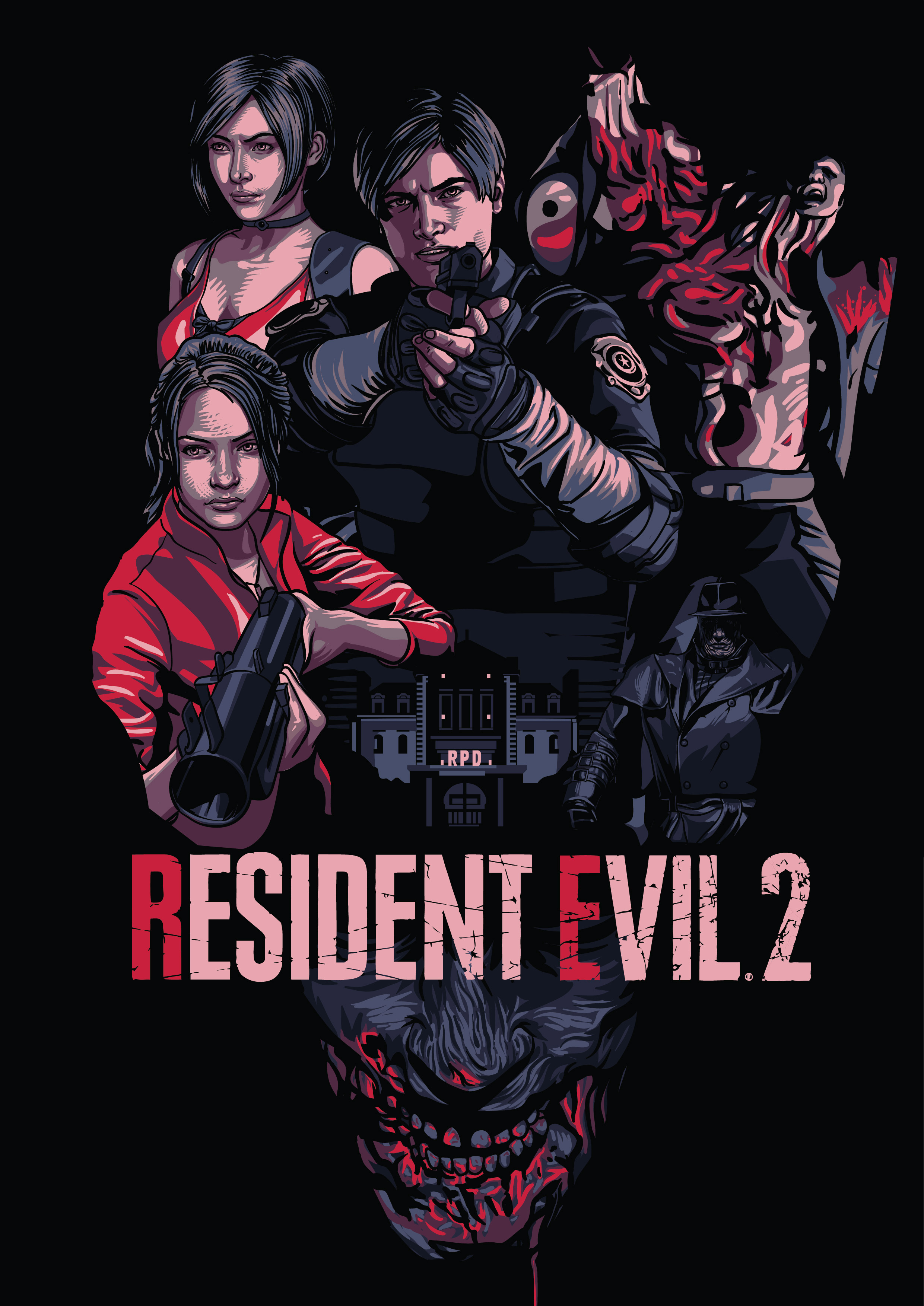Resident Evil 2 Remake Posterspy