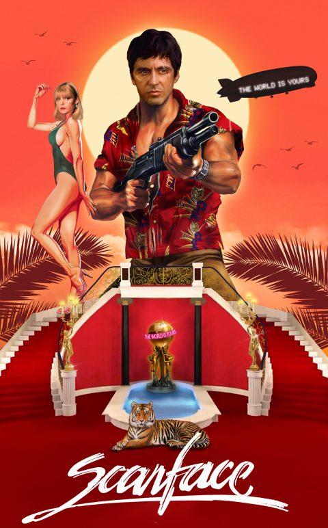Scarface – Alternative Movie Poster